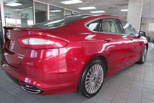 2016 Ford Fusion Titanium W/ NAVIGATION SYSTEM/ BACK UP CAM Chicago, Illinois 3