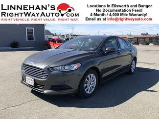 2016 Ford Fusion S in Bangor, ME 04401