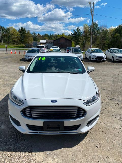 2016 Ford Fusion S Hoosick Falls, New York 1