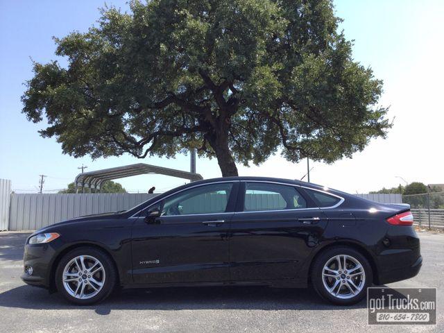 2016 Ford Fusion Hybrid Sedan Titanium 2.0L Hybrid