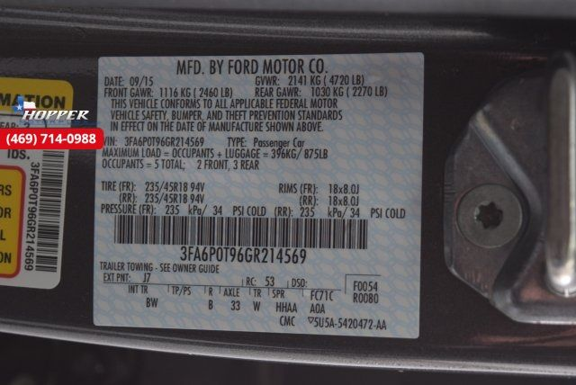 2016 Ford Fusion SE in McKinney Texas, 75070