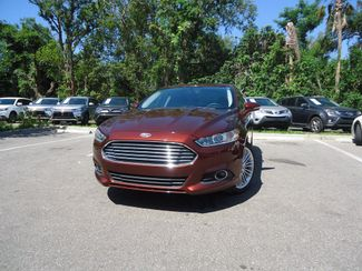 2016 Ford Fusion SE LUX PK. LEATHER. CAM. HTD SEATS SEFFNER, Florida