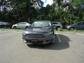 2016 Ford Fusion AWD. 2.0T. LEATHER. NAVI. SUNROOF SEFFNER, Florida