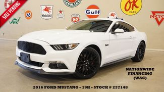 2016 Ford Mustang GT Coupe 6 SPD,BACK-UP CAM,RECARO,EXHAUST,19K in Carrollton, TX 75006