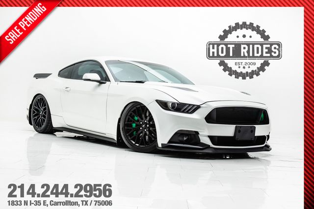 2016 Ford Mustang GT Premium 5.0 With Many Upgrades & Air Ride