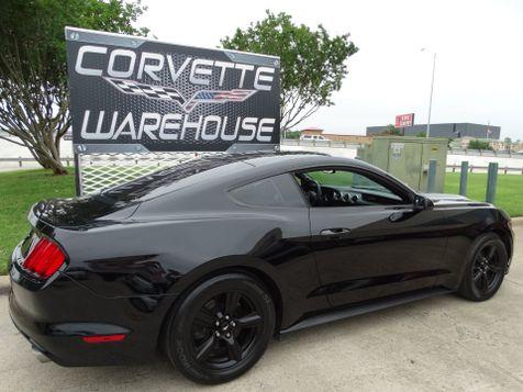 2016 Ford Mustang V6 Coupe 6-Speed, CD Player, Black Alloys 27k!   Dallas, Texas   Corvette Warehouse  in Dallas, Texas