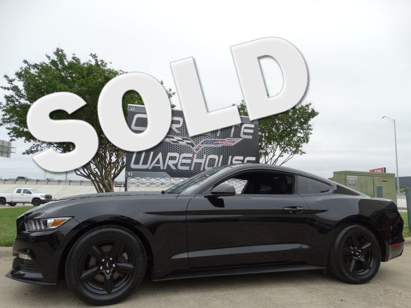 2016 Ford Mustang V6 Coupe 6-Speed, CD Player, Black Alloys 27k!   Dallas, Texas   Corvette Warehouse