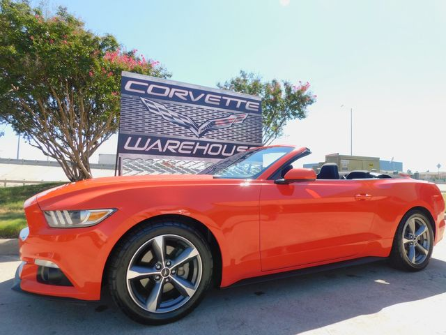 2016 Ford Mustang Convertible Auto, Sirius, Back-Up Camera 77k in Dallas, Texas 75220