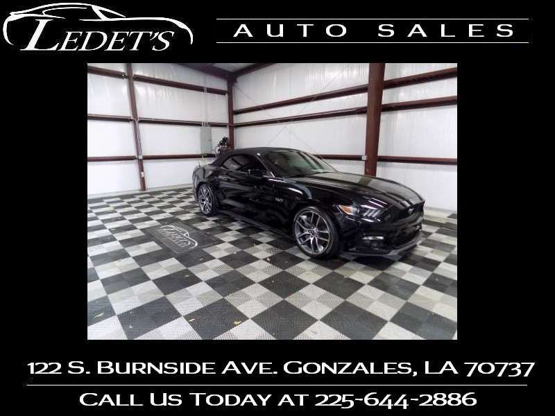 2016 Ford Mustang Convertible GT Premium - Ledet's Auto Sales Gonzales_state_zip in Gonzales Louisiana