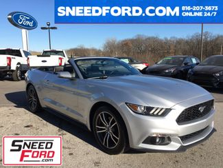 2016 Ford Mustang EcoBoost Premium Convertible in Gower Missouri, 64454