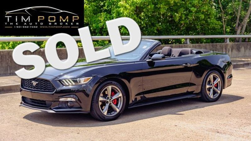 2016 Ford Mustang V6   Memphis, Tennessee   Tim Pomp - The Auto Broker in Memphis Tennessee