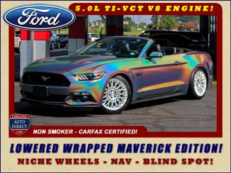 2016 Ford Mustang GT Premium- NAV- LOWERED WRAPPED MAVERICK EDITION! Mooresville , NC