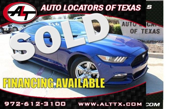 2016 Ford Mustang in Plano TX