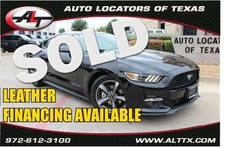 2016 Ford Mustang Eco | Plano, TX | Consign My Vehicle in  TX