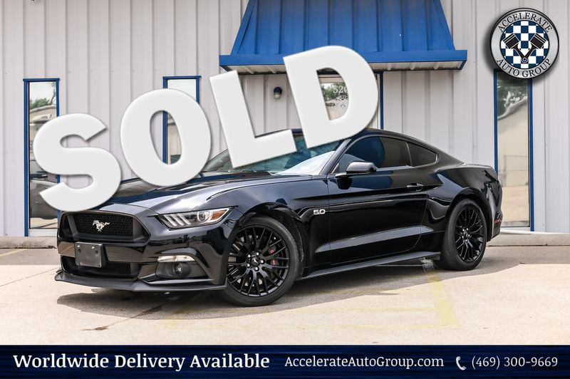 2016 Ford Mustang 5.0L V8 GT, 6-SPEED MANUAL TRANS, UBER CLEAN!! in Rowlett Texas