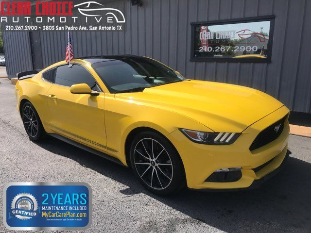 2016 Ford Mustang Eco