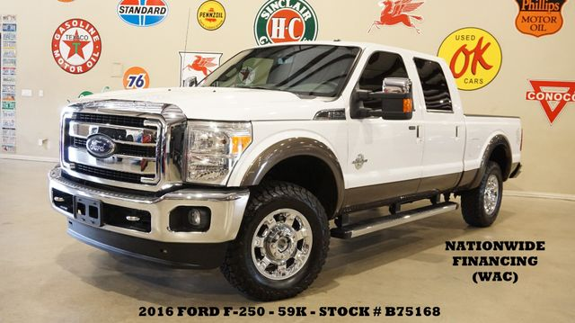 2016 Ford F-250 Lariat 4X4 DIESEL,ROOF,BACK-UP,HTD/COOL LTH,59K