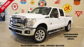 2016 Ford Super Duty F-250 Lariat 4X4 DIESEL,NAV,BACK-UP,HTD/COOL LTH,89K in Carrollton, TX 75006