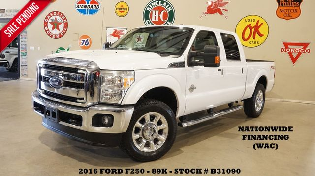 2016 Ford Super Duty F-250 Lariat 4X4 DIESEL,NAV,BACK-UP,HTD/COOL LTH,89K