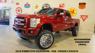 2016 Ford F-250 Platinum 4X4 LIFTED,ROOF,NAV,HTD/COOL LTH,24'S,60K in Carrollton, TX 75006