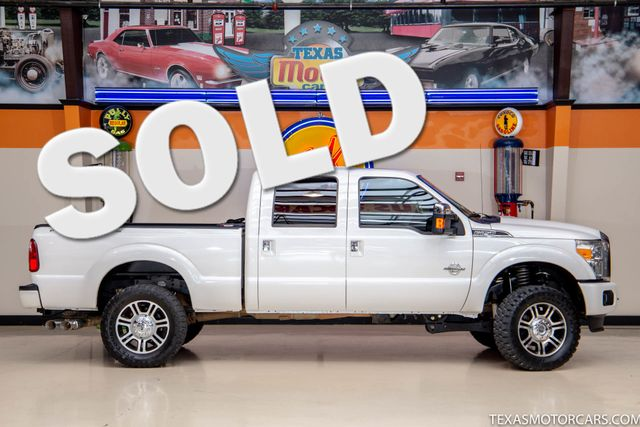 2016 Ford Super Duty F-250 Pickup Platinum 4x4