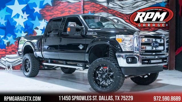2016 Ford Super Duty F-250 Pickup Lariat Lifted with Many Upgrades