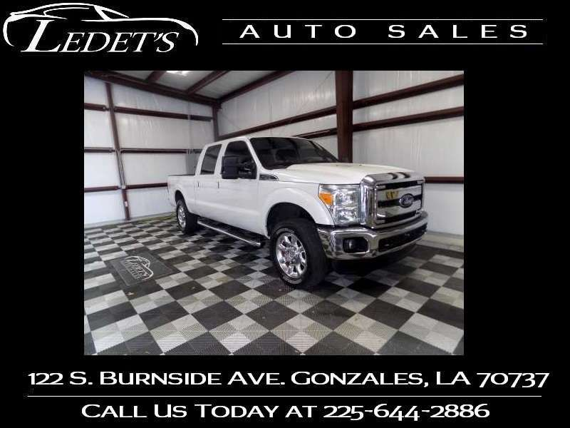 2016 Ford Super Duty F-250 Pickup Lariat - Ledet's Auto Sales Gonzales_state_zip in Gonzales Louisiana