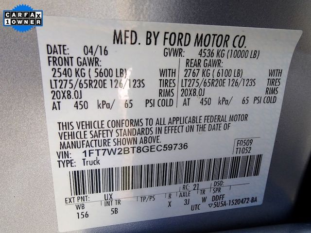 2016 Ford Super Duty F-250 Pickup Lariat Madison, NC 55