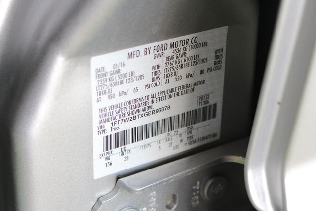 2016 Ford Super Duty F-250 Pickup XLT Crew Cab 4x4 - Power Stroke Diesel! Mooresville , NC 40