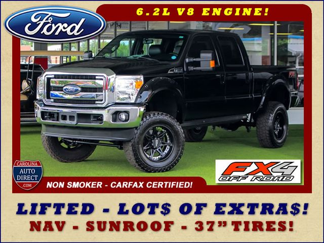 2016 Ford Super Duty F-250 Pickup LARIAT ULTIMATE EDITION Crew Cab 4x4 FX4 - LIFTED! Mooresville , NC 0