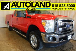 2016 Ford Super Duty F-250 utility box 4x4 XLT in Roscoe, IL 61073