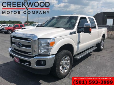 2016 Ford Super Duty F-250 Lariat 4x4 Diesel White Leather Nav Chrome20s NICE in Searcy, AR