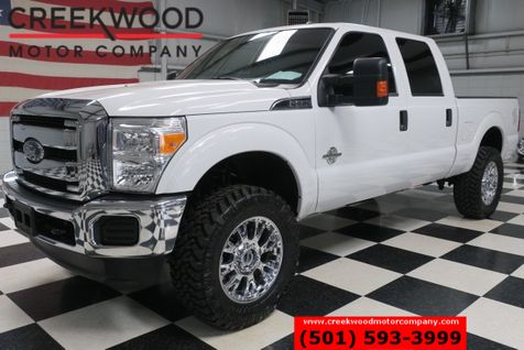 2016 Ford Super Duty F-250 XLT 4x4 Diesel White Lifted Chrome 20s New Tires in Searcy, AR