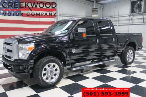 2016 Ford Super Duty F-250 Platinum 4x4 Diesel Black Nav Roof Chrome 20s NICE in Searcy, AR