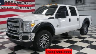 2016 Ford Super Duty F-250 XL 4x4 Diesel White Chrome 20s Low Miles 1 Owner in Searcy, AR 72143