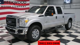 2016 Ford Super Duty F-250 XL XLT 4x4 Diesel Silver Chrome 18s Low Miles NICE in Searcy, AR 72143