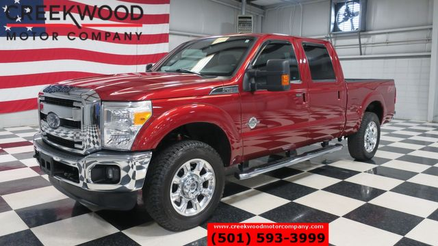2016 Ford Super Duty F-250 Lariat 4x4 FX4 Diesel Leather Nav Roof Chrome 20s