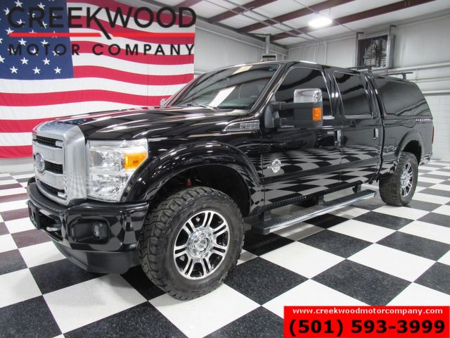 2016 Ford Super Duty F-250 Platinum 4x4 Diesel Black 1Owner 20s Shell Sunroof in Searcy, AR 72143