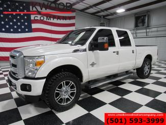 2016 Ford Super Duty F-250 Platinum 4x4 Diesel White New Tires 20s Nav Roof in Searcy, AR 72143
