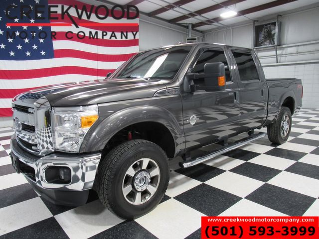 2016 Ford Super Duty F-250 XLT 4x4 FX4 Diesel Gray 1 Owner 18s New Tires Crew