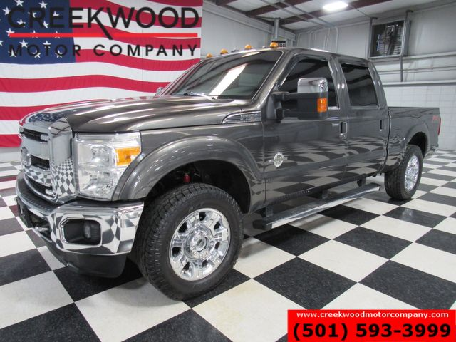 2016 Ford Super Duty F-250 Lariat 4x4 Diesel 1 Owner Chrome 20s Sunroof CLEAN