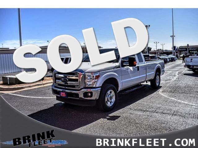 2016 Ford Super Duty F-250 SRW 4WD SuperCab 158 XLT | Lubbock, TX | Brink Fleet in Lubbock TX
