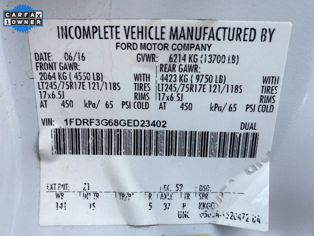 2016 Ford Super Duty F-350 DRW Chassis Cab XL Madison, NC 37