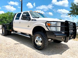 2016 Ford Super Duty F-350 DRW Lariat Crew Cab 4X4 FX4 6.7L Powerstroke Diesel Auto CM Bed LIFTED in Sealy, Texas 77474