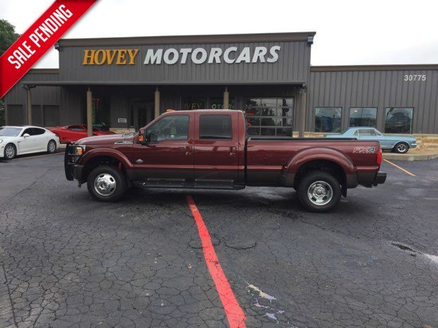 2016 Ford Super Duty F-350 DRW Pickup Lariat King Ranch 4x4