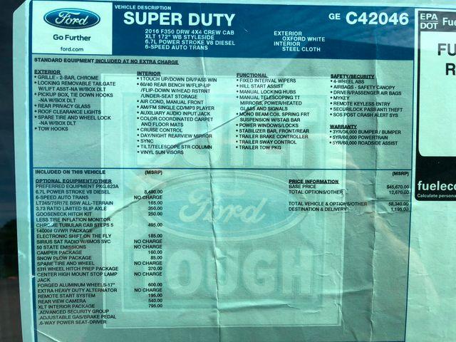 2016 Ford Super Duty F-350 DRW Pickup XLT 4X4 in Gower Missouri, 64454