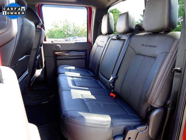 2016 Ford Super Duty F-350 DRW Pickup Platinum Madison, NC 40