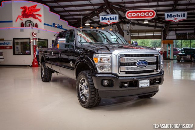 2016 Ford Super Duty F-350 SRW Pickup Platinum 4X4 in Addison Texas, 75001