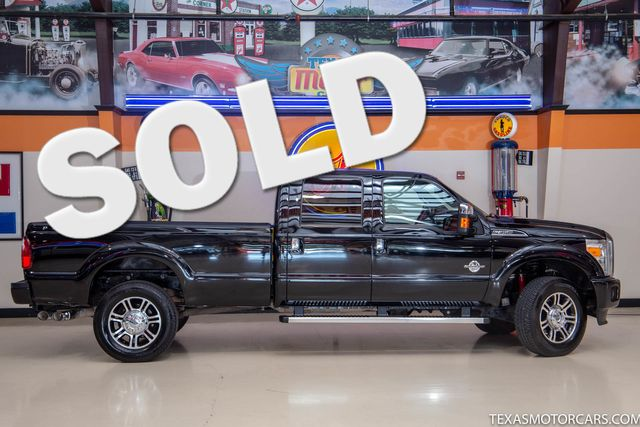 2016 Ford Super Duty F-350 SRW Pickup Platinum 4x4