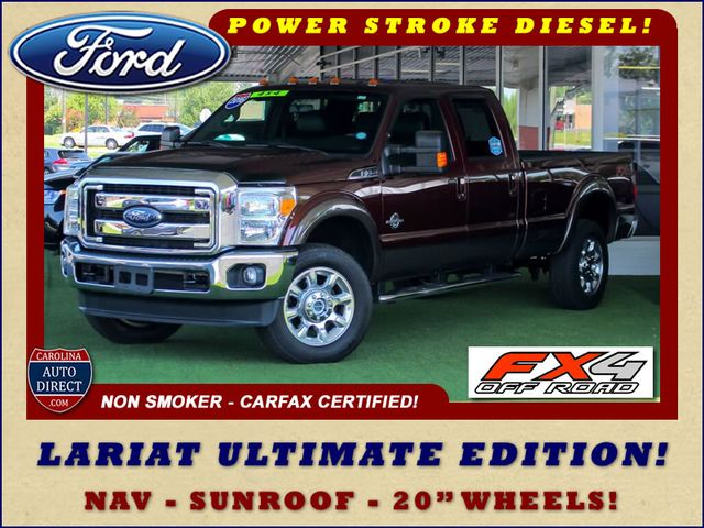 2016 Ford Super Duty F-350 SRW Pickup LARIAT ULTIMATE EDITION Crew Cab Long Bed 4x4 FX4 Mooresville , NC 0
